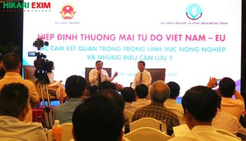 Hiệp định thương mai tự do giữa Việt Nam - EU