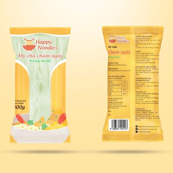 Mỳ chũ chùm ngây - moringa