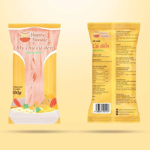 Mỳ chũ củ dền - beetroot