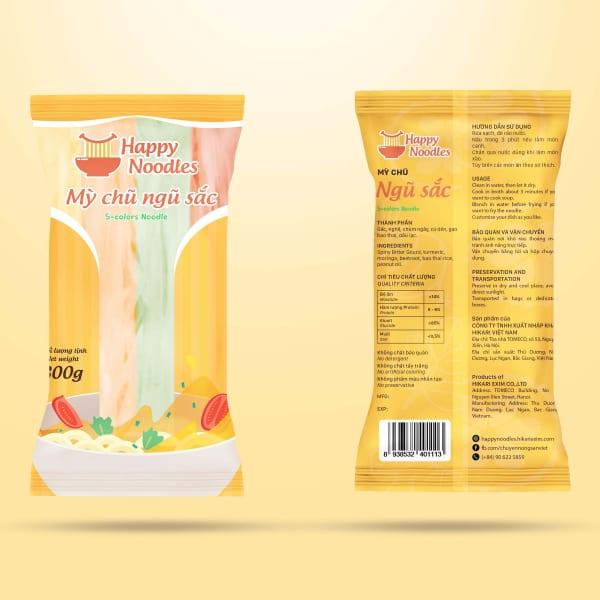 Mỳ chũ ngũ sắc - 5-colors Noodles