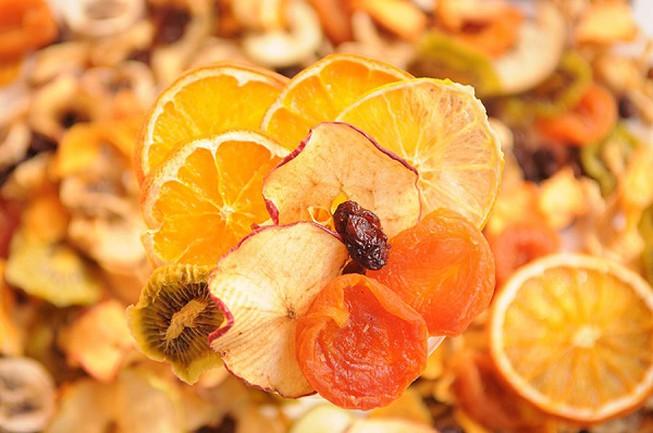 Giảm cân bằng Detox hoa quả sấy lạnh có tốt không